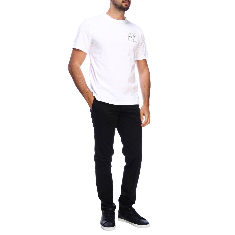 T-shirt men Sundek white 4