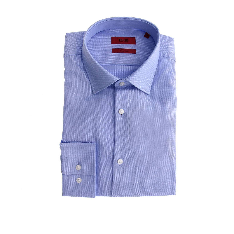 Shirt men Hugo Boss sky blue 1