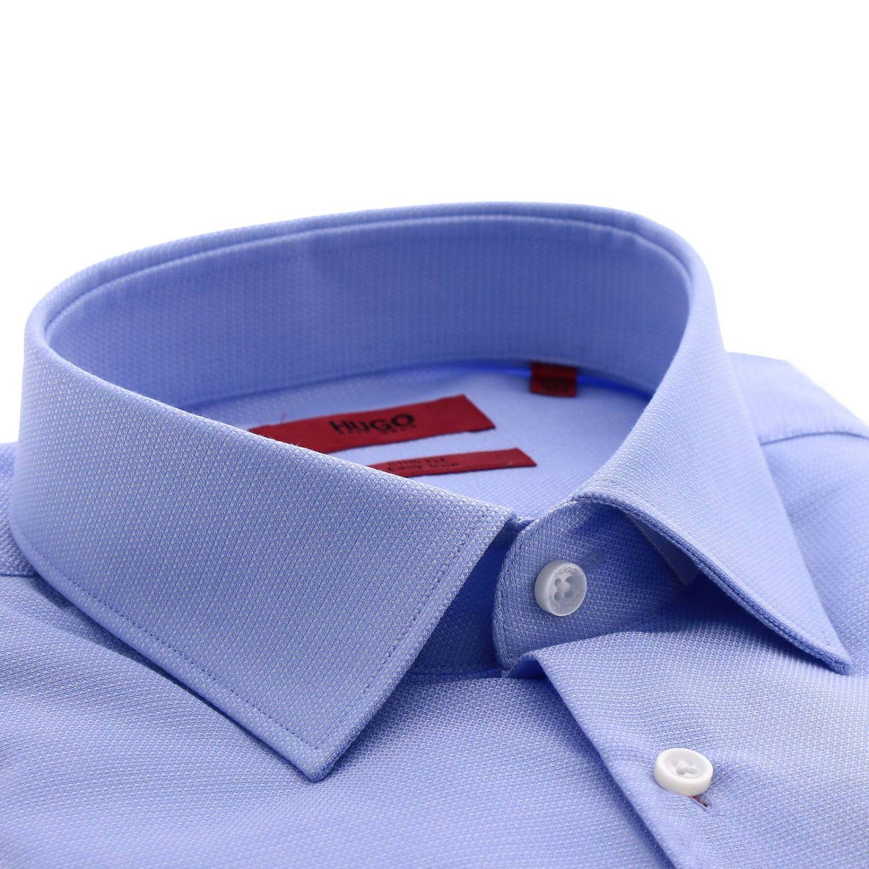 Shirt men Hugo Boss sky blue 2