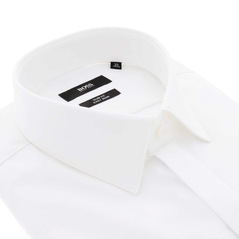 Рубашка Мужское Hugo Boss белый 2