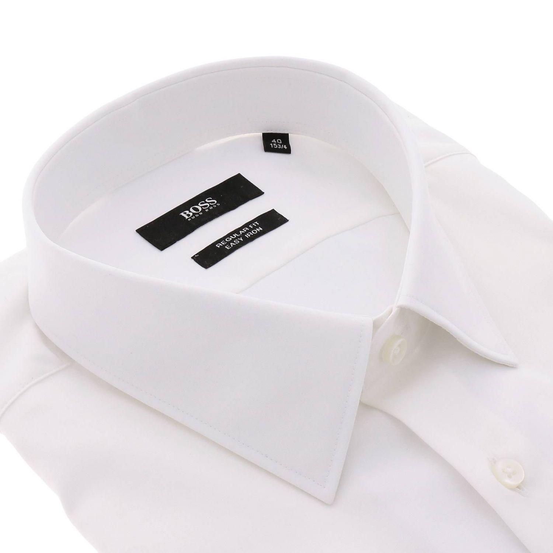 Chemise homme Hugo Boss blanc 2