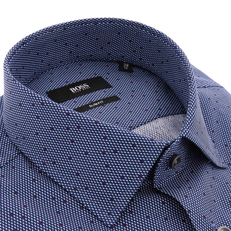 Shirt men Hugo Boss navy 2