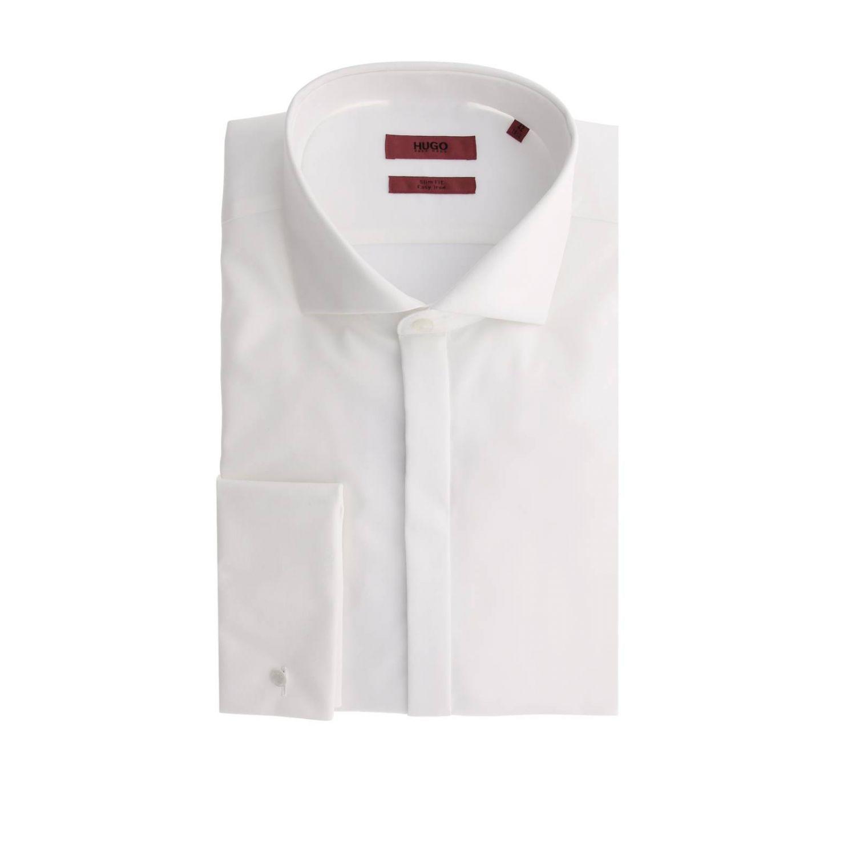 Рубашка Мужское Hugo Boss белый 1