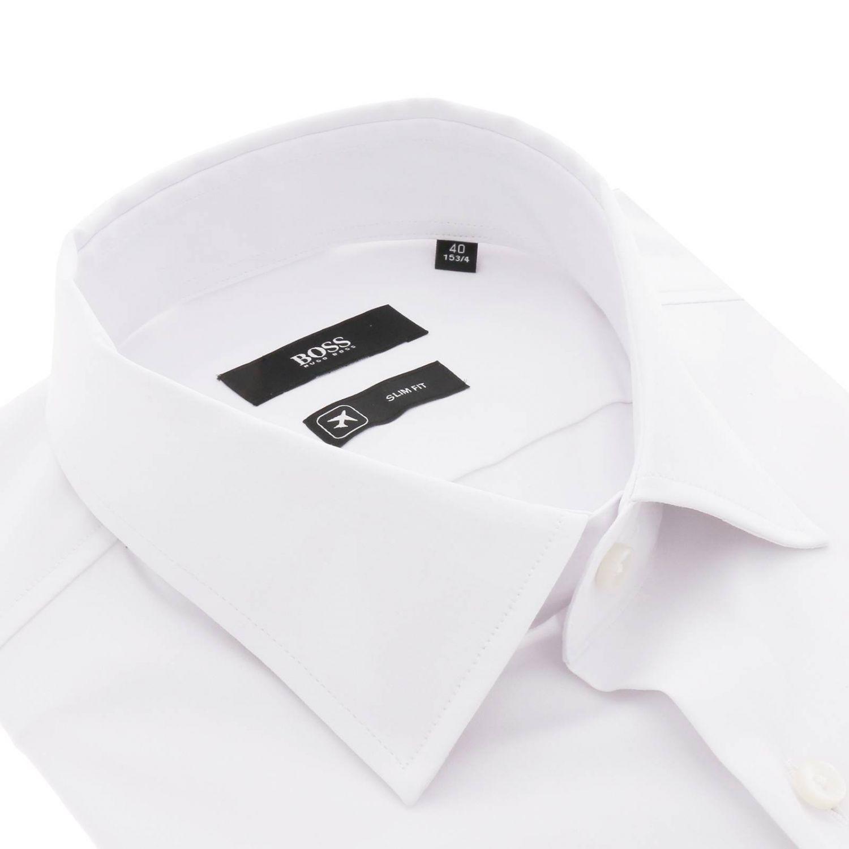衬衫 Hugo Boss: 衬衫 男士 Hugo Boss 白色 2