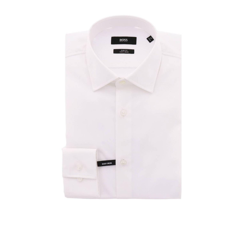Camisa hombre Hugo Boss blanco 1