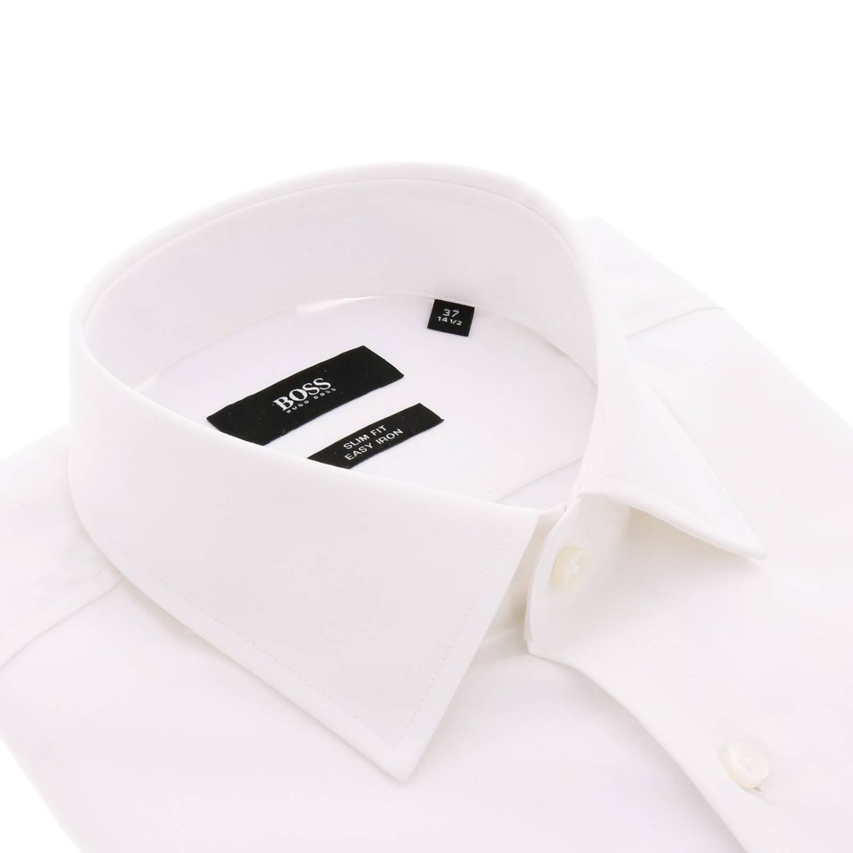 Camisa hombre Hugo Boss blanco 2