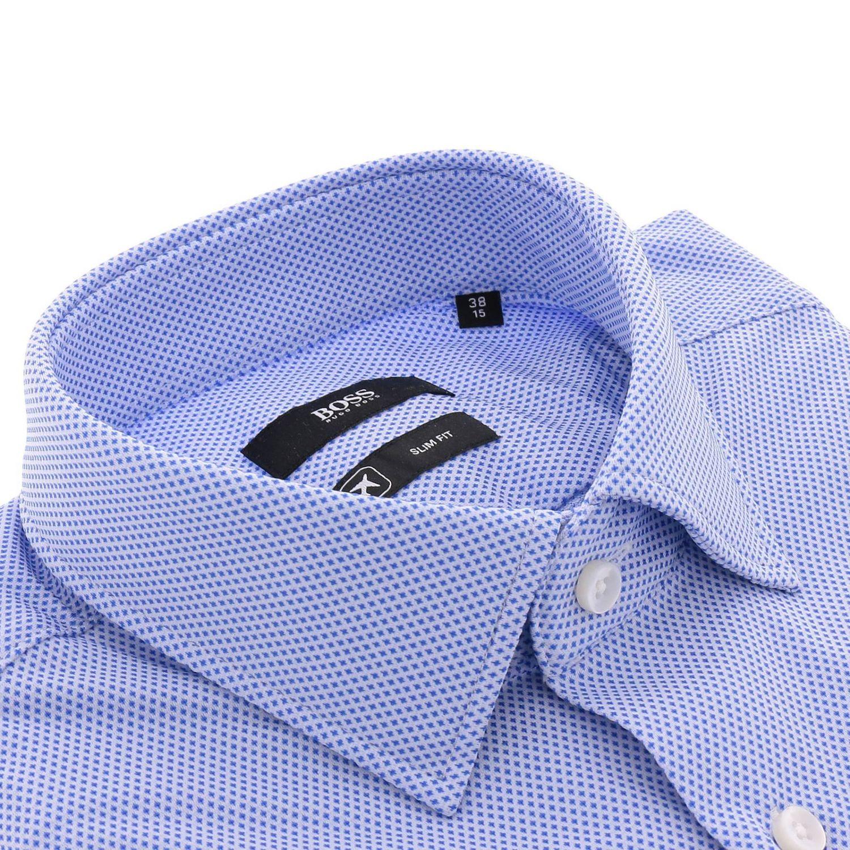 Camicia uomo Hugo Boss blue 2