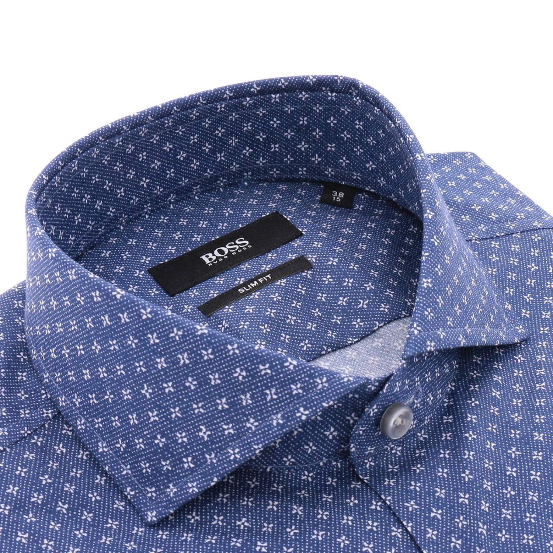 Рубашка Мужское Hugo Boss синий 2