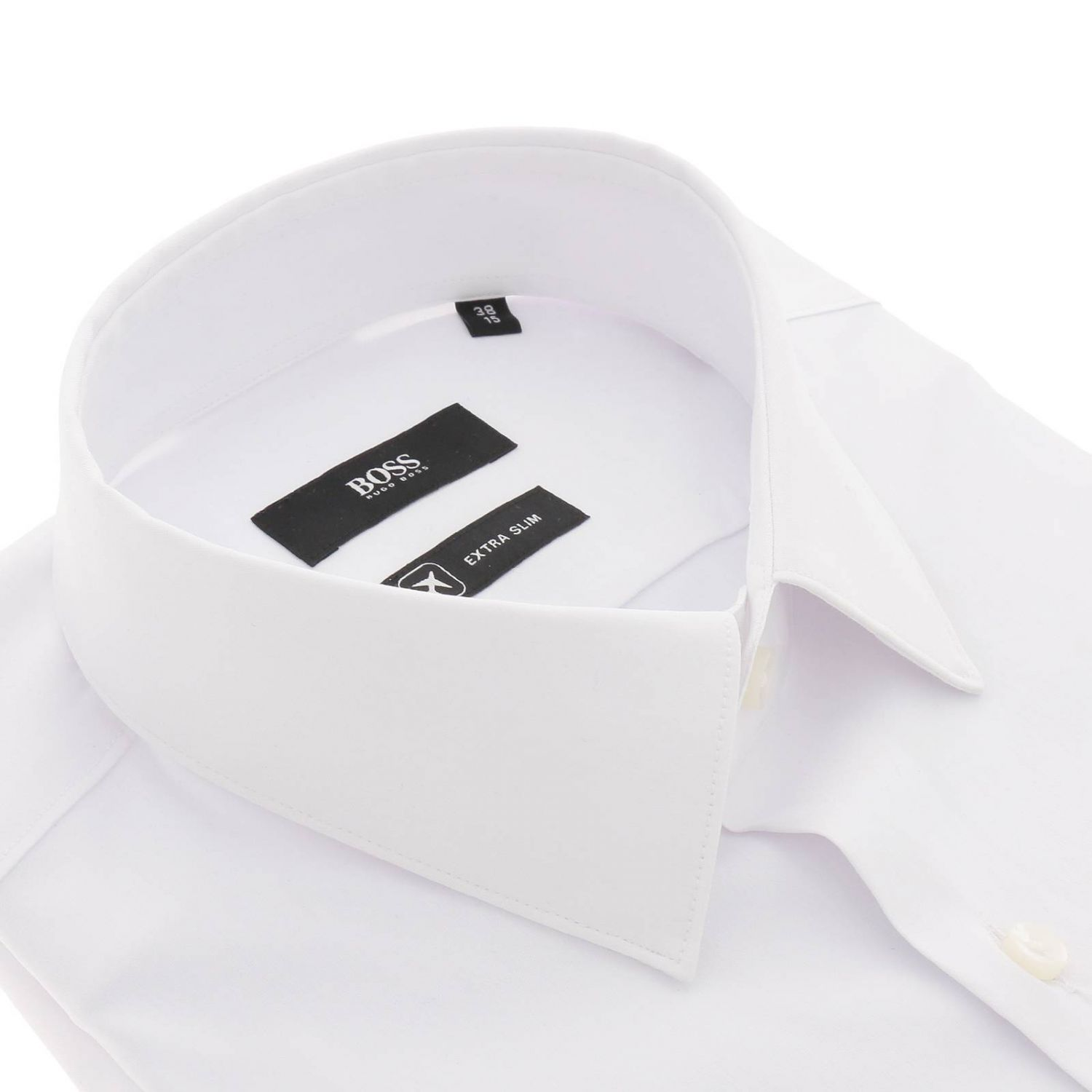 Shirt men Hugo Boss white 2
