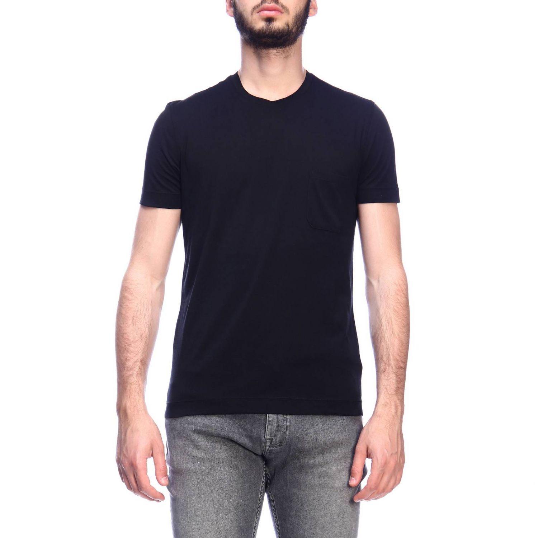 T-shirt Della Ciana: T-shirt men Della Ciana black 1