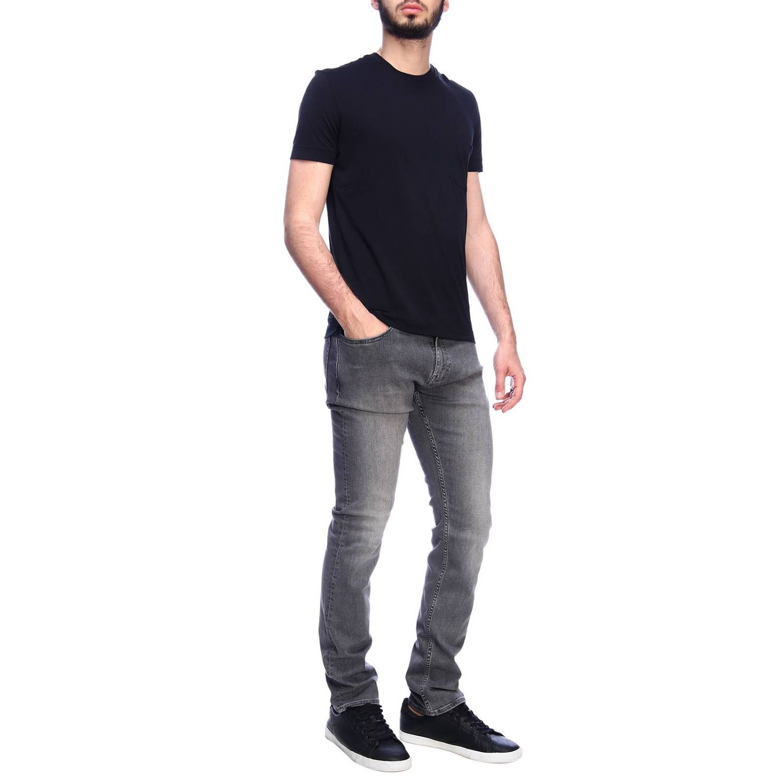 T-shirt Della Ciana: T-shirt men Della Ciana black 4