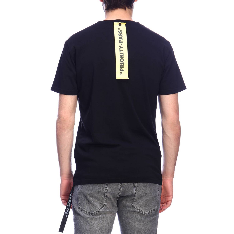 T-shirt Daniele Alessandrini: T-shirt men Daniele Alessandrini black 3