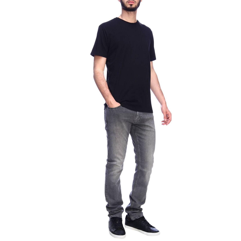 T-shirt Daniele Alessandrini: T-shirt men Daniele Alessandrini black 4