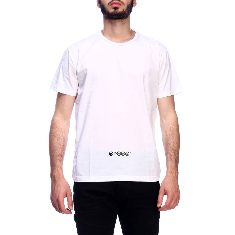 T-shirt Daniele Alessandrini: T-shirt men Daniele Alessandrini white 1