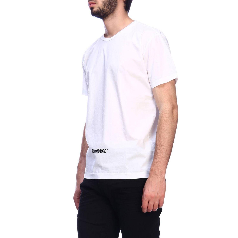 T-shirt Daniele Alessandrini: T-shirt men Daniele Alessandrini white 2