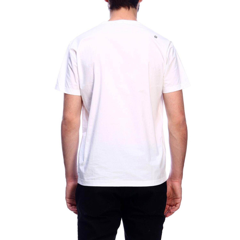 T-shirt Daniele Alessandrini: T-shirt men Daniele Alessandrini white 3