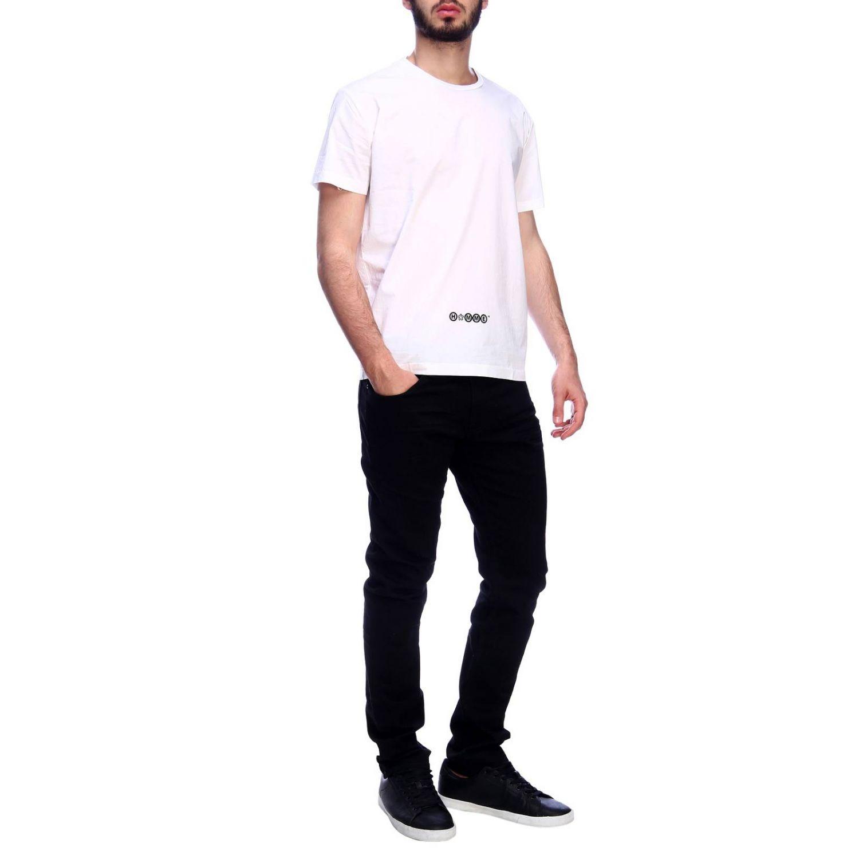 T-shirt Daniele Alessandrini: T-shirt men Daniele Alessandrini white 4
