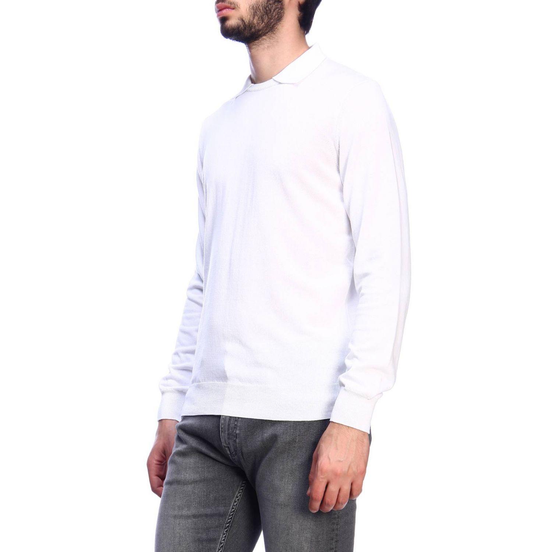 Pull homme Kangra blanc 2