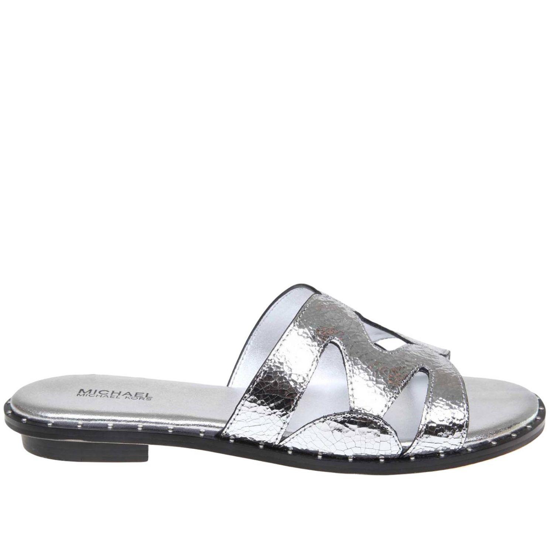 MICHAEL MICHAEL KORS   Flat Sandals Flat Sandals Women Michael Michael Kors   Goxip
