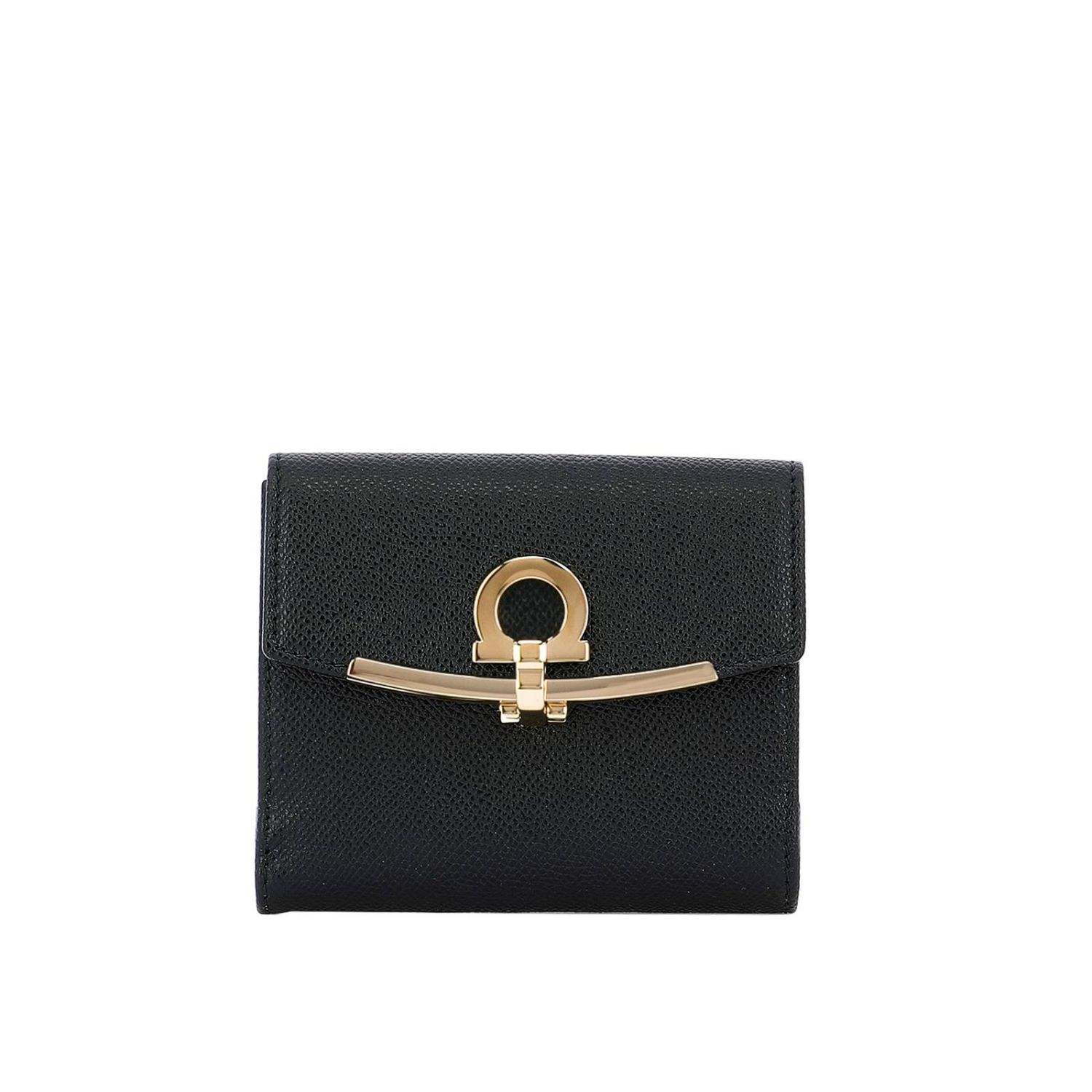Wallet women Salvatore Ferragamo black 1