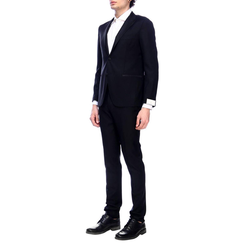 Suit Eleventy: Suit men Eleventy black 2