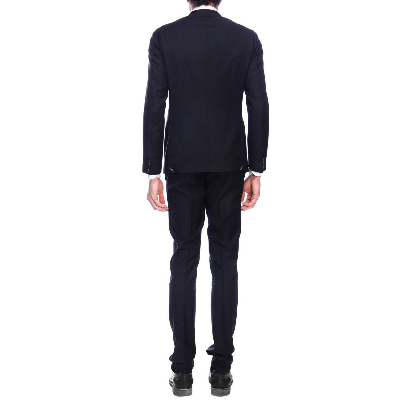 Suit Eleventy: Suit men Eleventy black 3