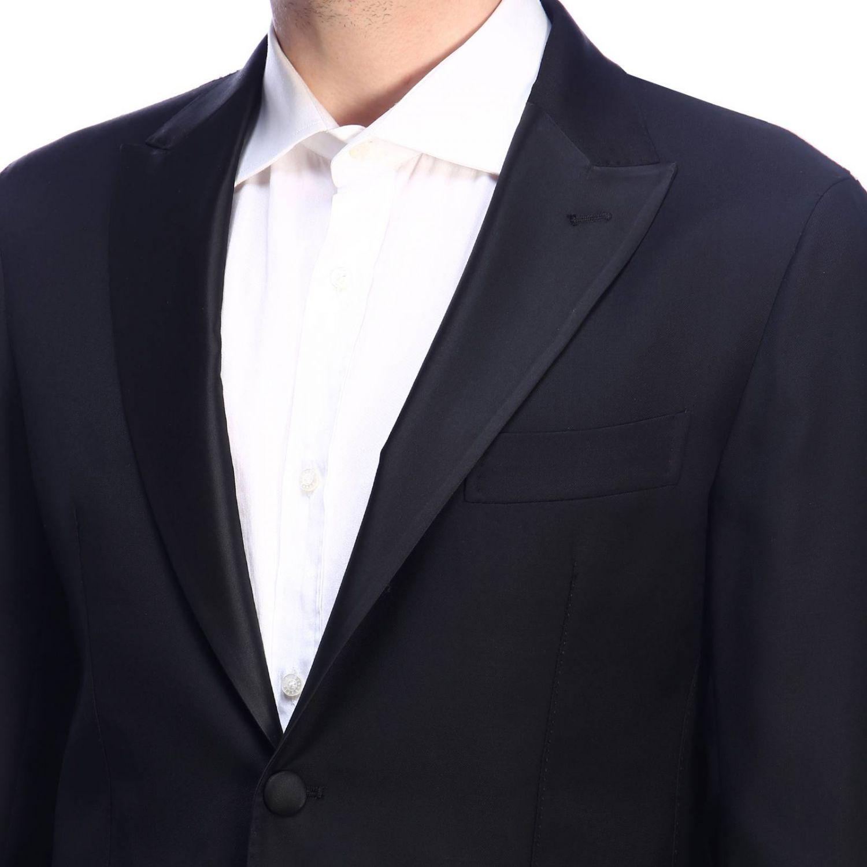 Suit Eleventy: Suit men Eleventy black 5