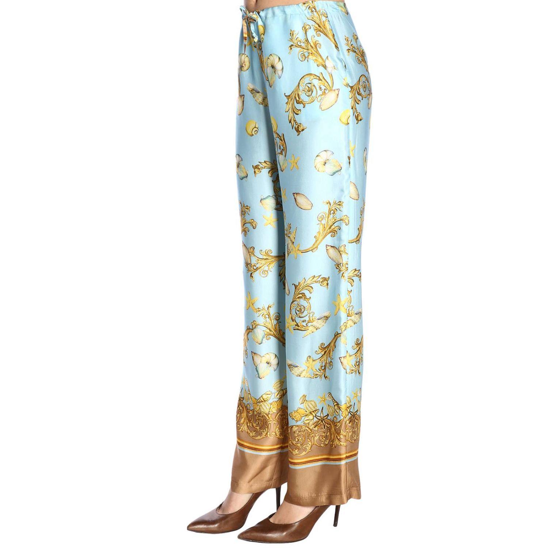 Trousers women La Vie En Rose gnawed blue 2