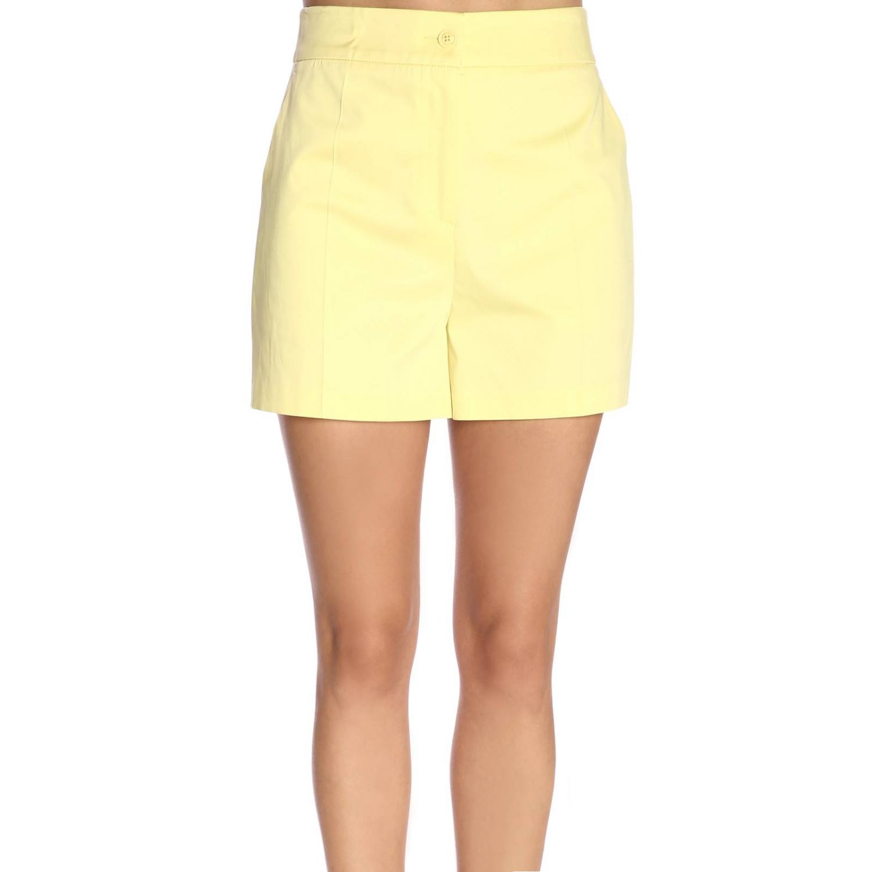 Pantaloncino donna Boutique Moschino giallo 1
