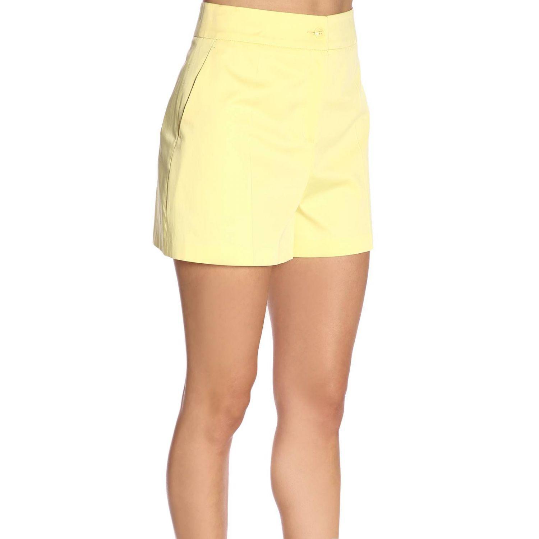 Pantaloncino donna Boutique Moschino giallo 2