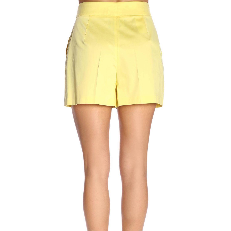 Pantaloncino donna Boutique Moschino giallo 3