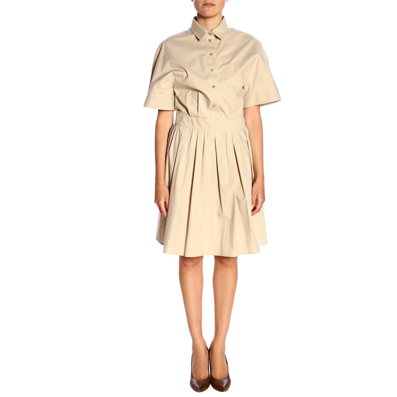Dress Boutique Moschino: Dress women Boutique Moschino beige 1