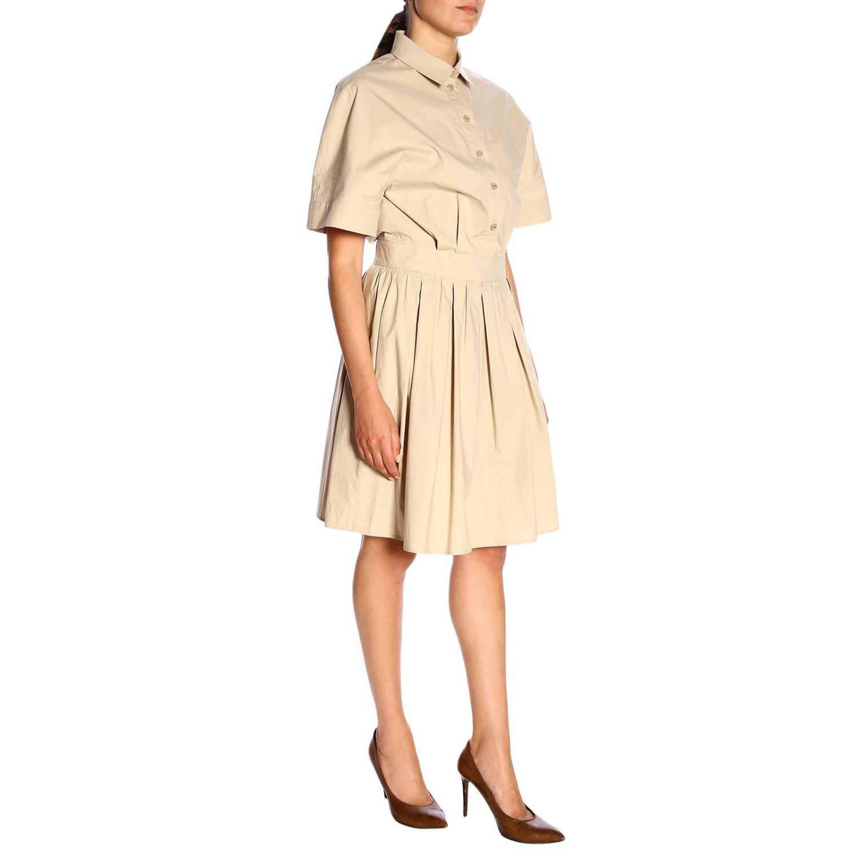 Dress Boutique Moschino: Dress women Boutique Moschino beige 2