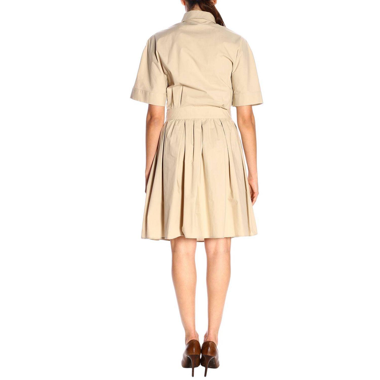 Dress Boutique Moschino: Dress women Boutique Moschino beige 3