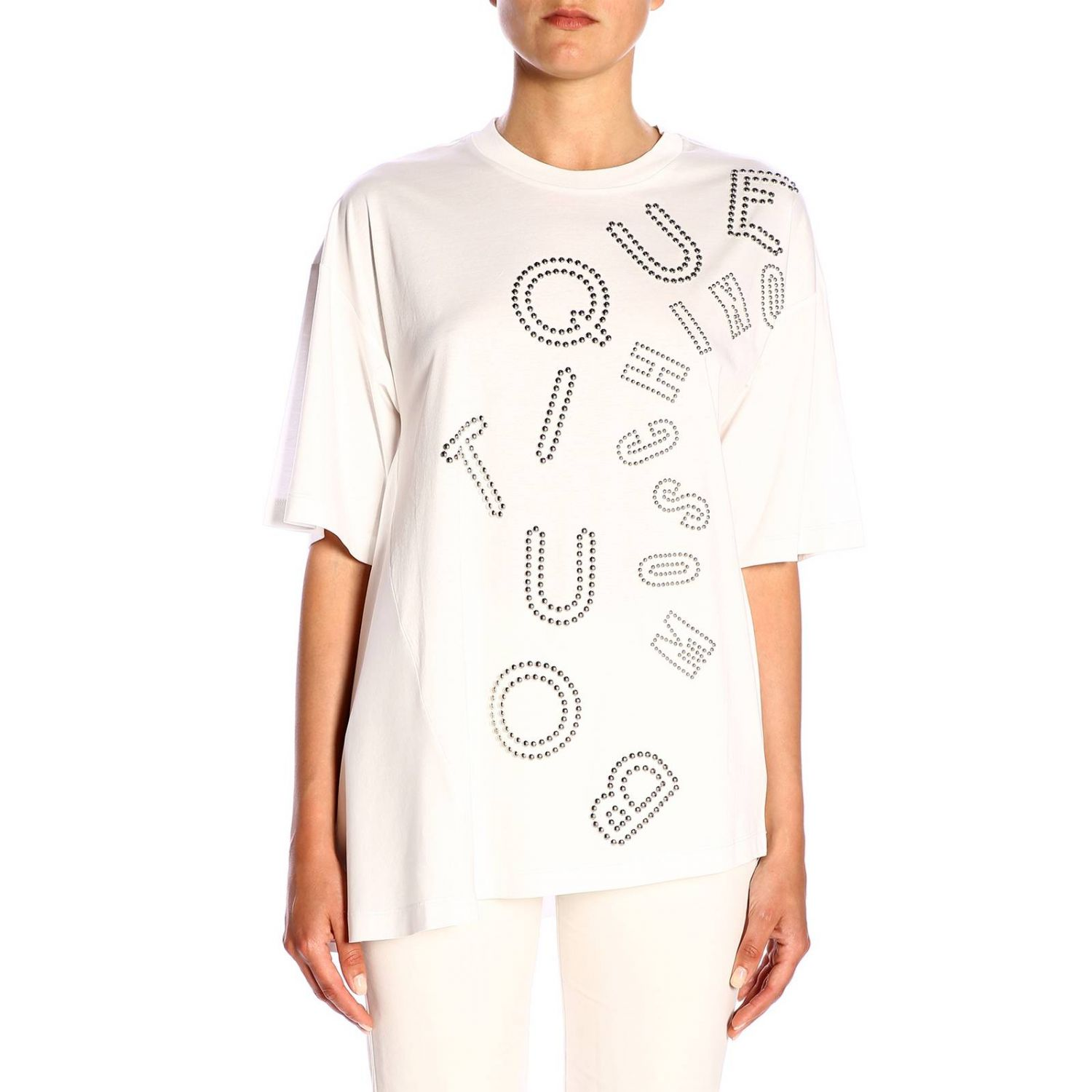 T-Shirt Boutique Moschino: T-shirt women Boutique Moschino white 1
