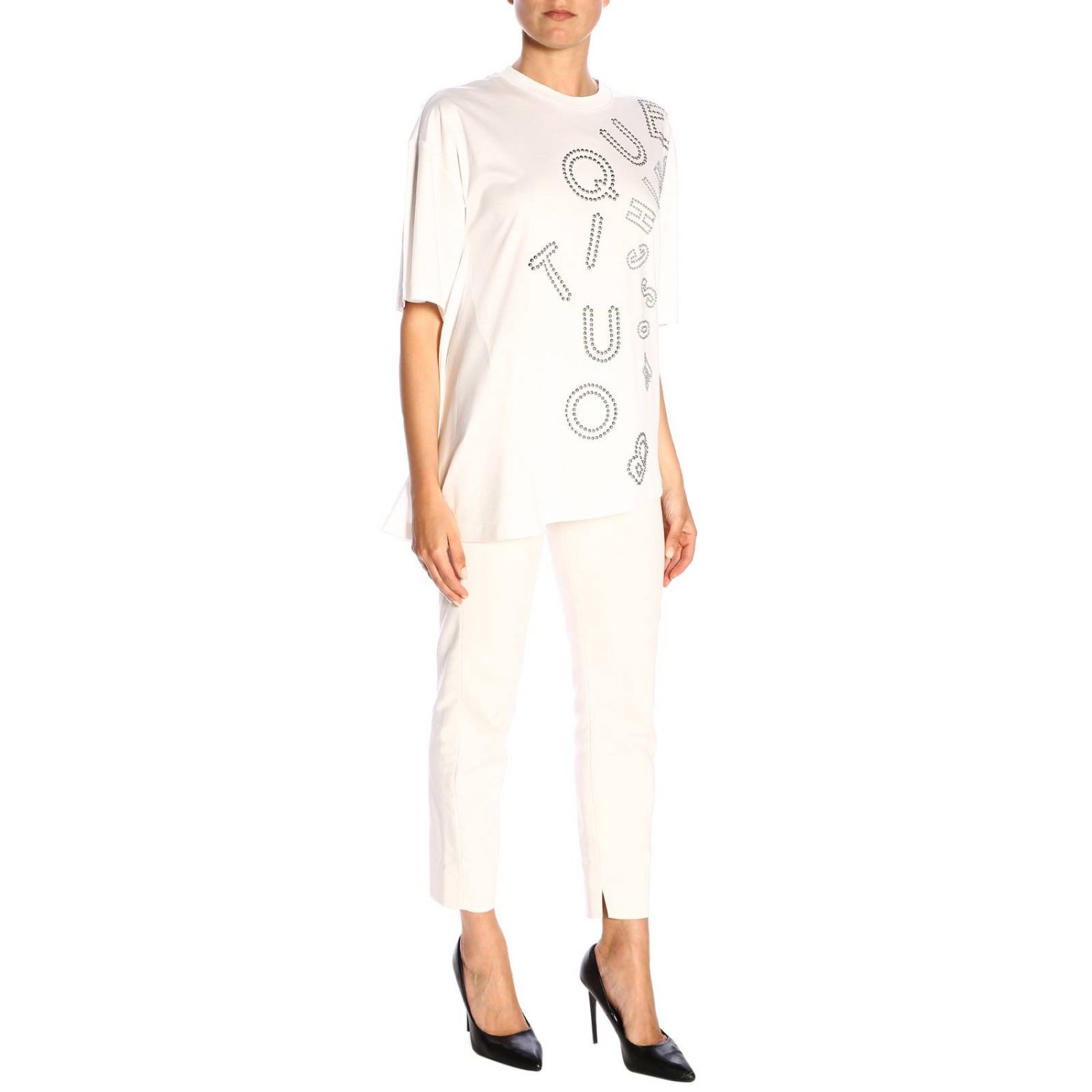 T-Shirt Boutique Moschino: T-shirt women Boutique Moschino white 4