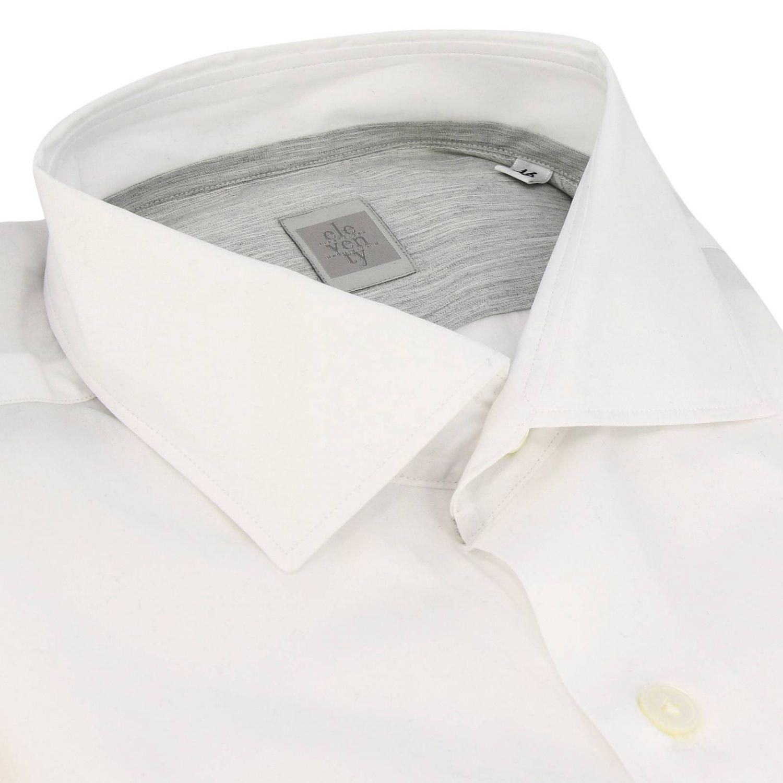 Chemise homme Eleventy blanc 2
