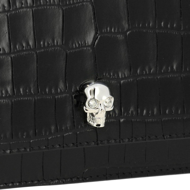 Mini bag women Alexander Mcqueen black 4