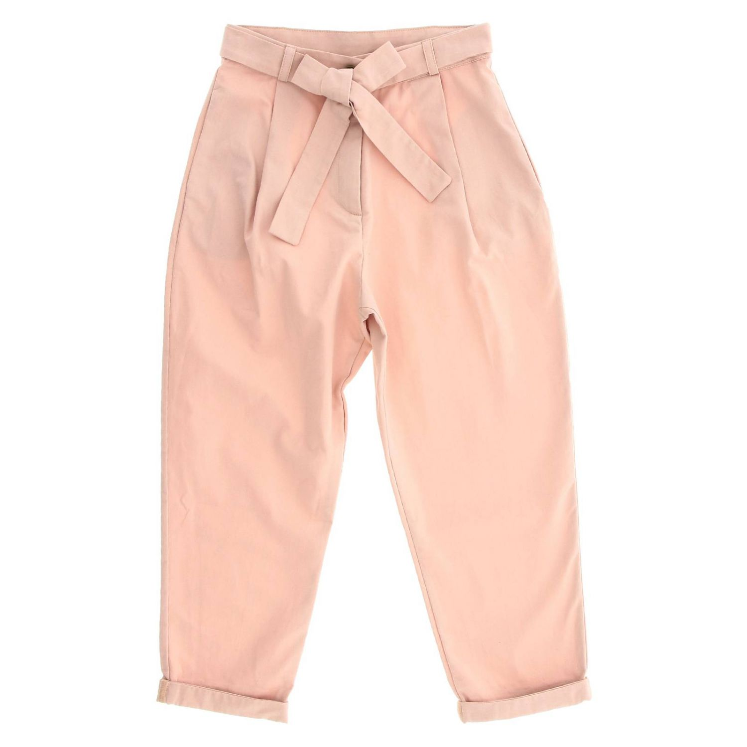 Trousers Caffe' D'orzo: Trousers kids Caffe' D'orzo pink 1