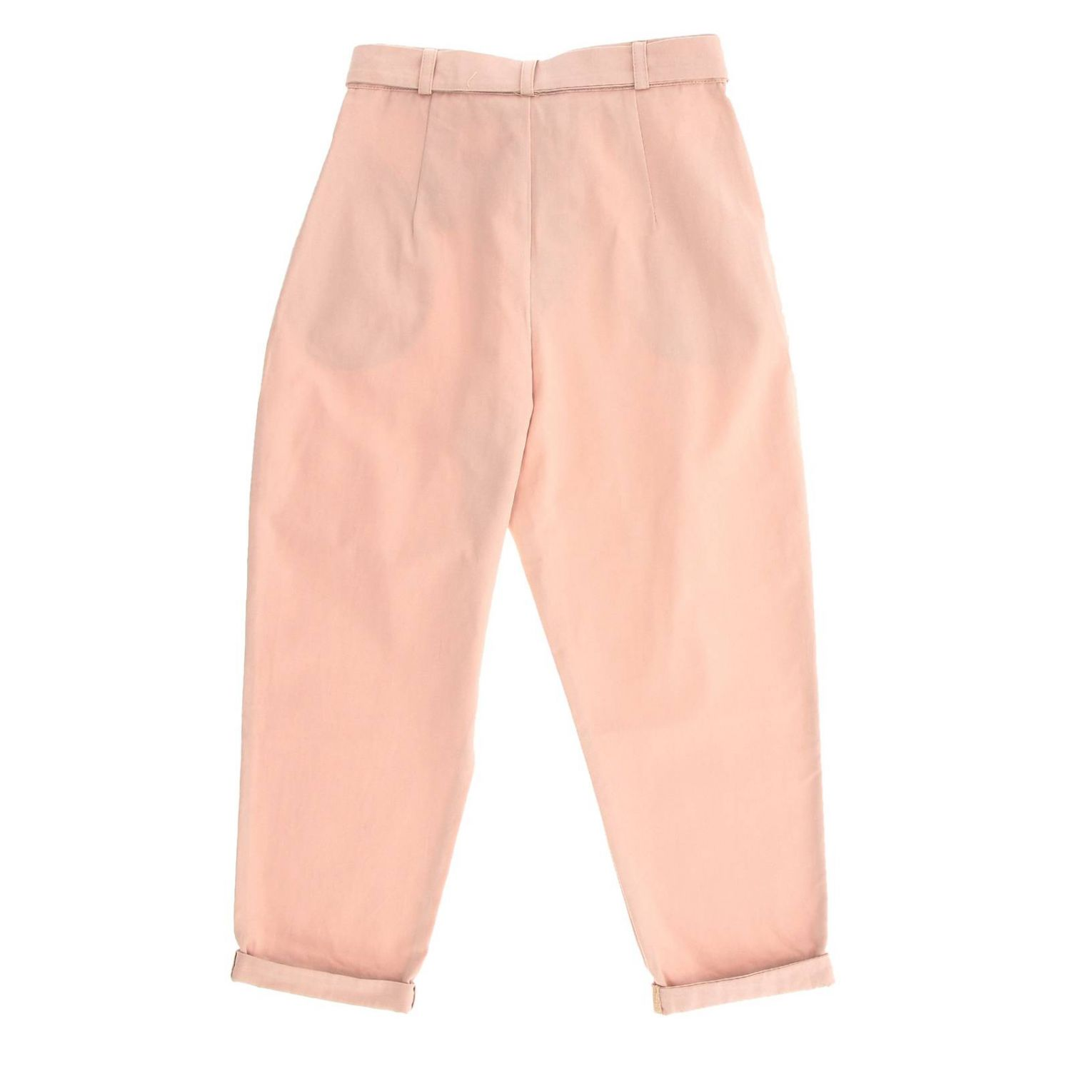 Trousers Caffe' D'orzo: Trousers kids Caffe' D'orzo pink 2