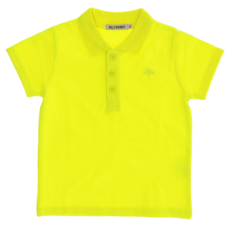 Camiseta niños Billybandit ocre 1
