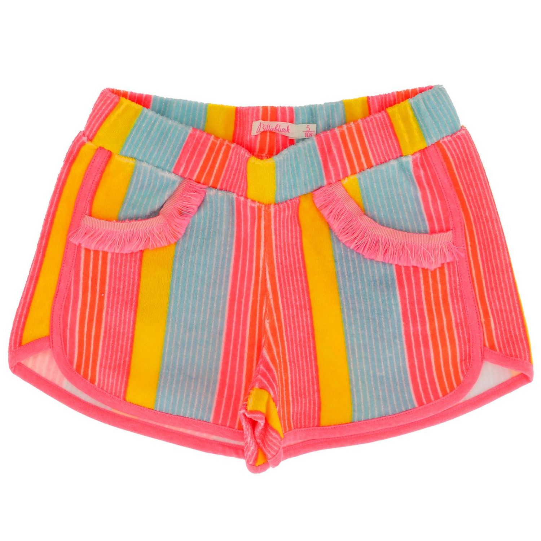 Pantalons courts enfant Billieblush multicolore 1