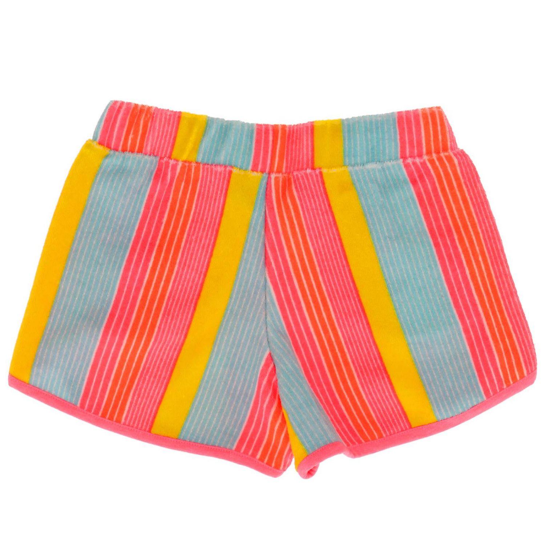 Pantalons courts enfant Billieblush multicolore 2