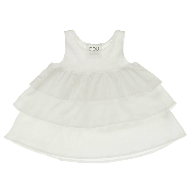 T-shirt kinder Douuod weiß 3