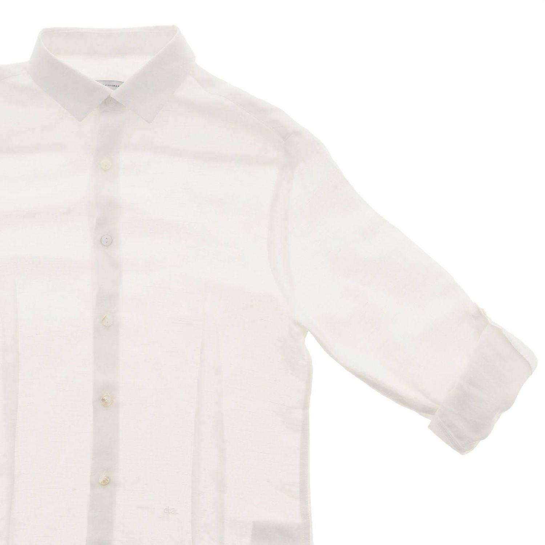 Camicia Daniele Alessandrini: Camicia bambino Daniele Alessandrini bianco 3