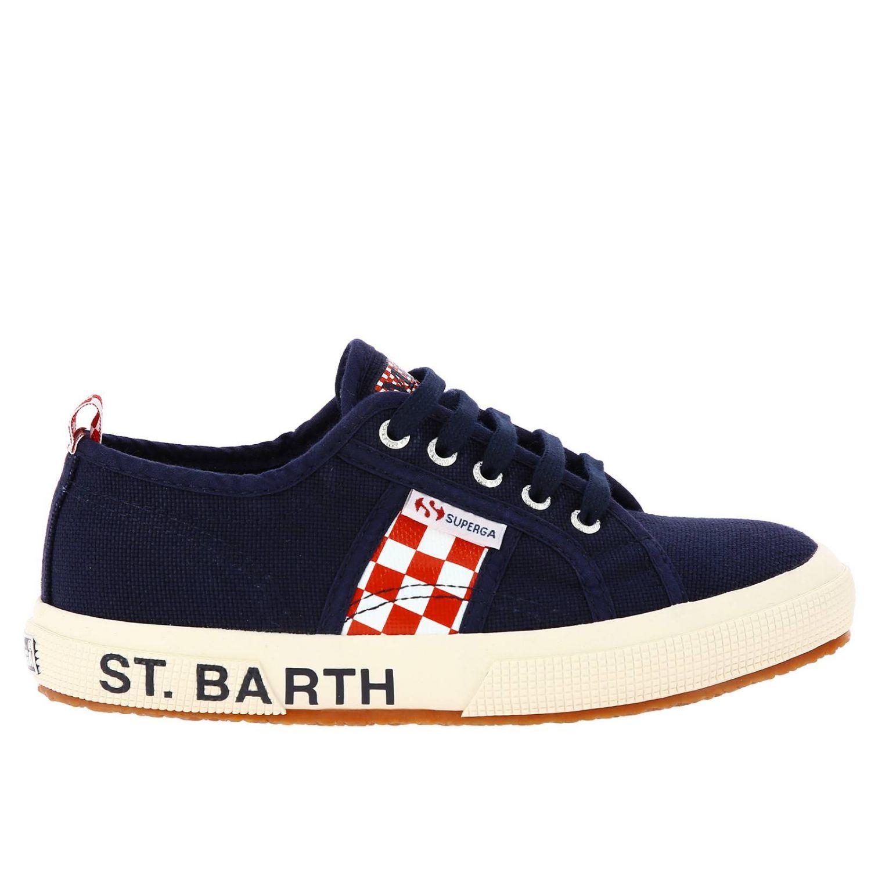 Scarpe bambino Mc2 Saint Barth blue navy 1
