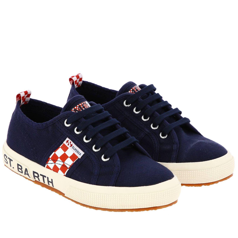 Scarpe bambino Mc2 Saint Barth blue navy 2