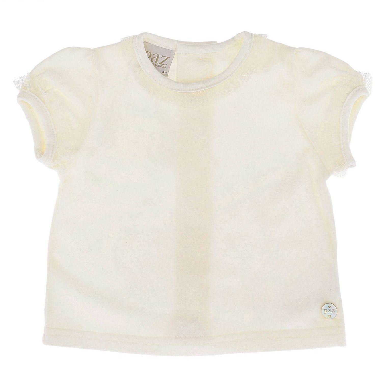 Chemise enfant Paz Rodriguez blanc 1