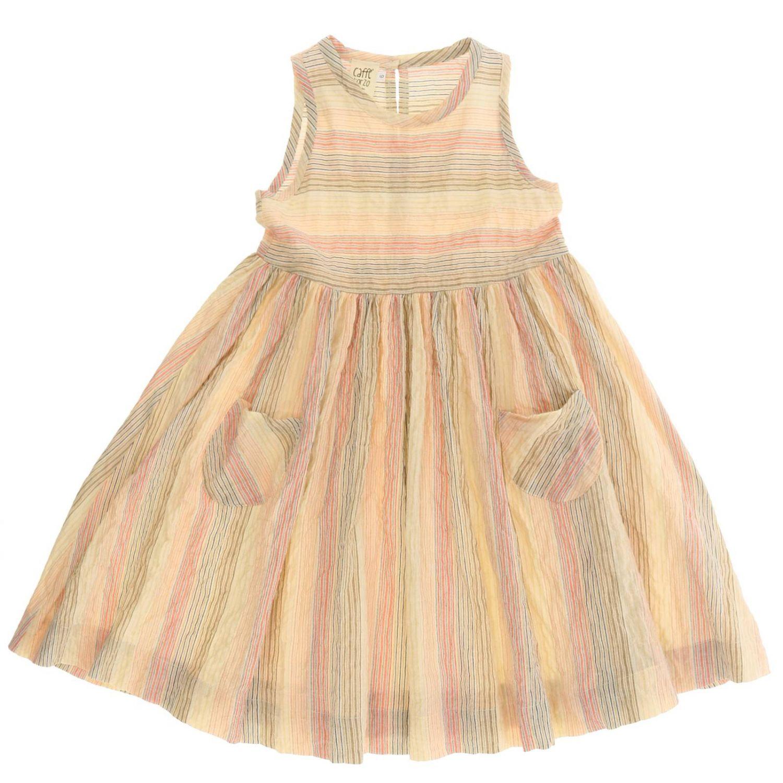 Vestido Caffe' D'orzo: Vestido niños Caffe' D'orzo rosa 1