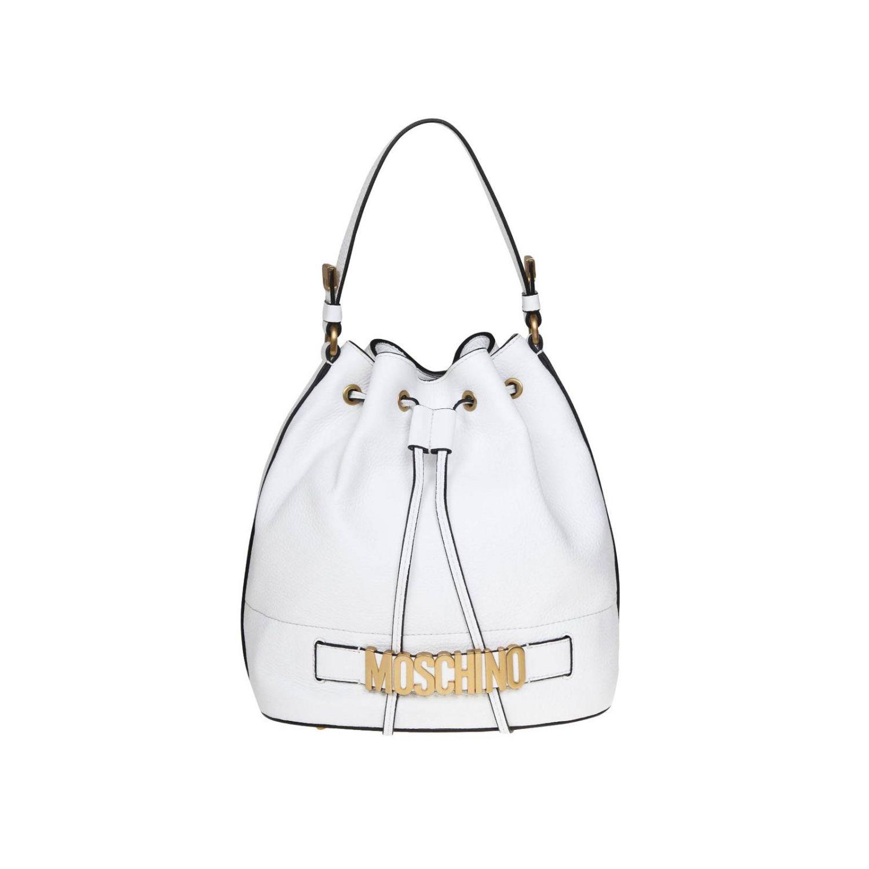Tote bags women Moschino Couture white 1